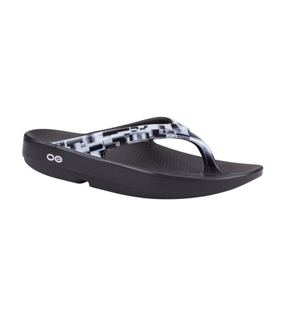 Oolala Thong Geo Black/White W8
